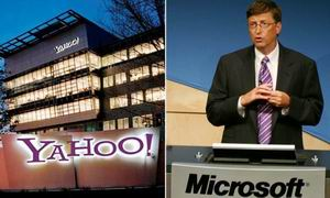 Microsoft y Yahoo estudian una posible alianza
